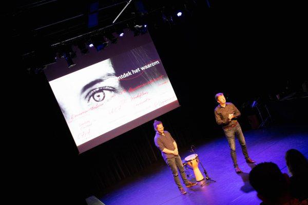 Fred Vahlkamp en Gijs Anders van Straalen op het ManualMaster Congres Kwaliteitsmanagement 2020.