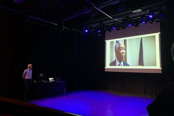 Jan Tjerk Boonstra tijdens zijn presentatie op het ManualMaster Congres Kwaliteitsmanagement 2020