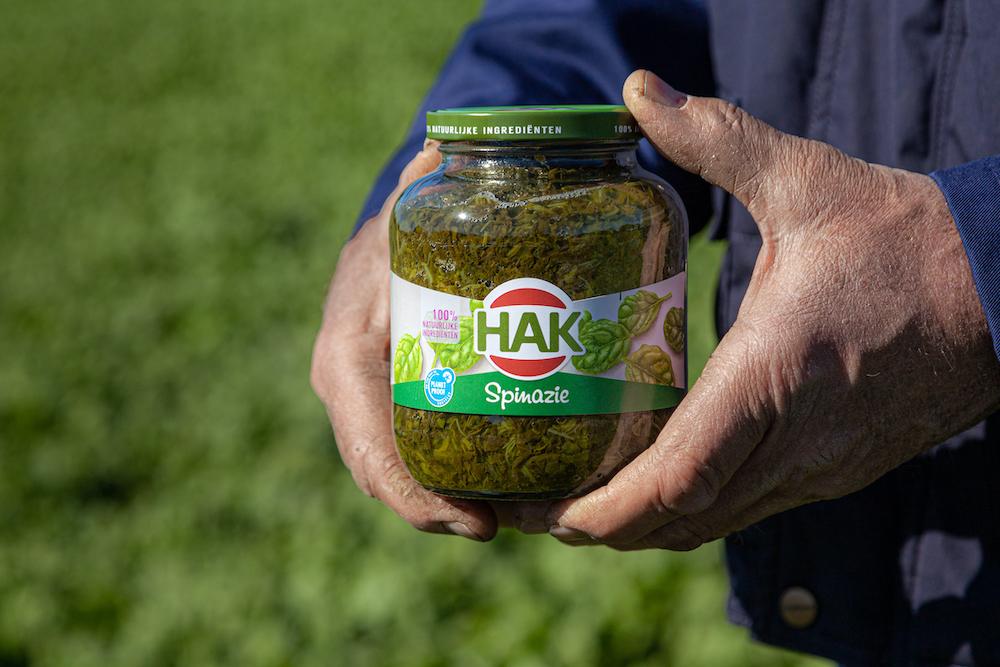 De groenten van Hak.
